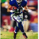 TIKI BARBER signed autographed GIANTS 8x10 photo IP 5.19.13