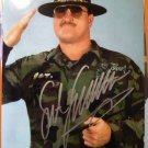 SGT SLAUGHTER signed autographed 8x10 photo IP 4.26.14
