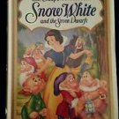 WALT DISNEY Snow White and the Seven Dwarfs VHS Masterpiece Collection #1524