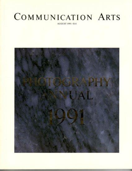 COMMUNICATION ARTS Photography Annual 1991 Magazine Back Issue