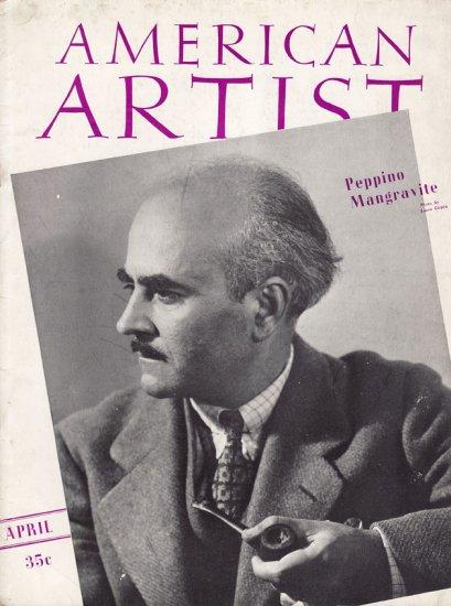 AMERICAN ARTIST Magazine April 1941 Watson-Guptil Publication Magazine Back Issue