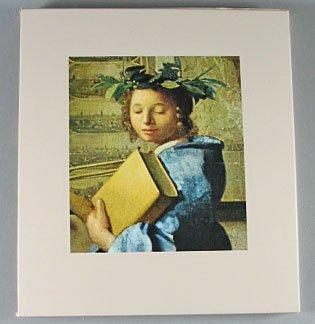 The World of Vermeer 1632 -1675 Time LIfe Art Book By Hans Koningsberger 1973 Hardcover Slip Case