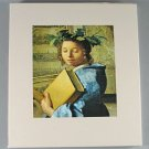 The World of Vermeer 1632 -1675 Time LIfe Art Book By Hans Koningsberger 1973 Hardcover Slip Case