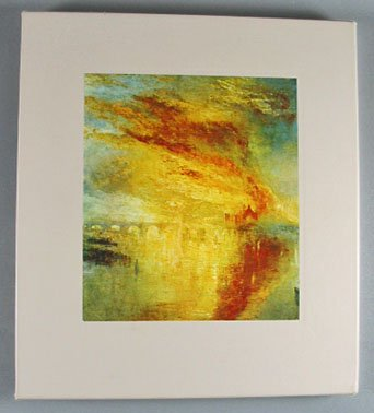 The World of Turner 1775-1851 By Diana Hirsh Time Life Art Book 1972  Hardcover with Slip Case