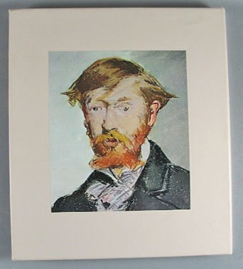 The World of Manet 1832-1883 By Pierre Schneider  Time Life Art Book 1970 Hardcover Slip Case