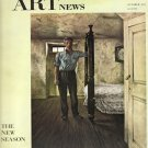 ARTnews Magazine October 1947 Art Illustrations Articles Magazine Back Issue