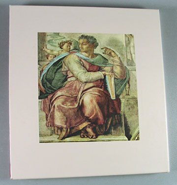 The World of Michelangelo 1475-1564 Time LIfe Art Book by Robert Coughlan 1972 Hardcover Slip Case