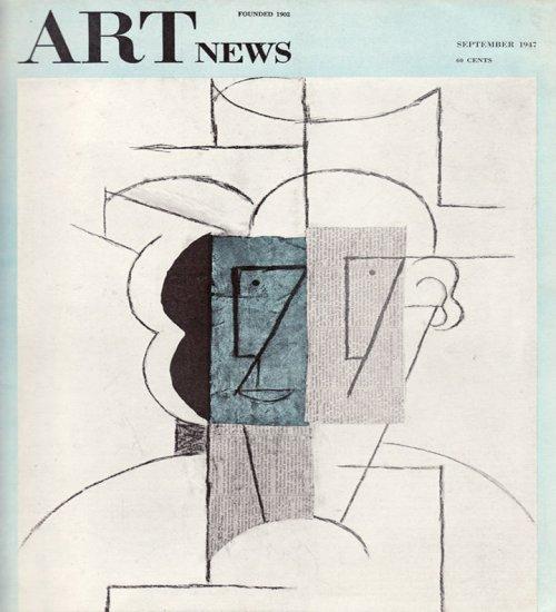 ARTnews Magazine September 1947 Art Illustrations Articles Magazine Back Issue
