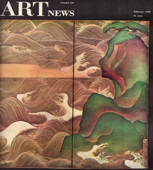 ARTnews Magazine February 1948 Art Illustrations Articles Magazine Back Issue