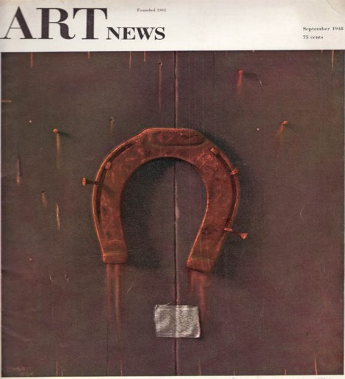 ARTnews Magazine September 1948 Art Illustrations Articles Magazine Back Issue