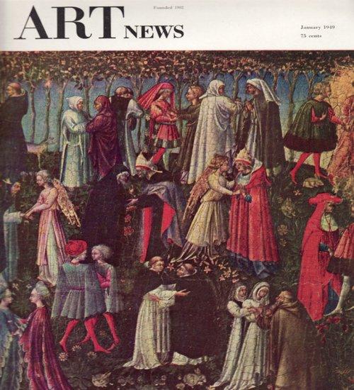 ARTnews Magazine January 1949 Art Illustrations Articles Magazine Back Issue