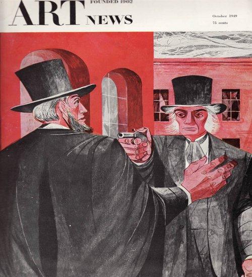ARTnews Magazine October 1949 Art Illustrations Articles Magazine Back Issue