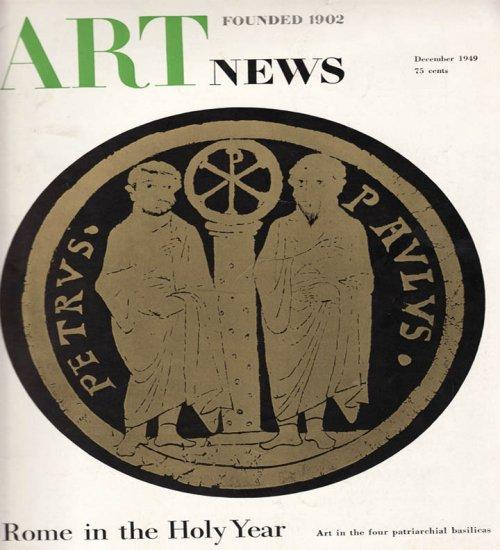 Art news Magazine December 1949 Art Illustrations Articles Magazine Back Issue