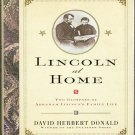 Lincoln at Home By David Herbert Donald 2000 History Biography  New Hardcover