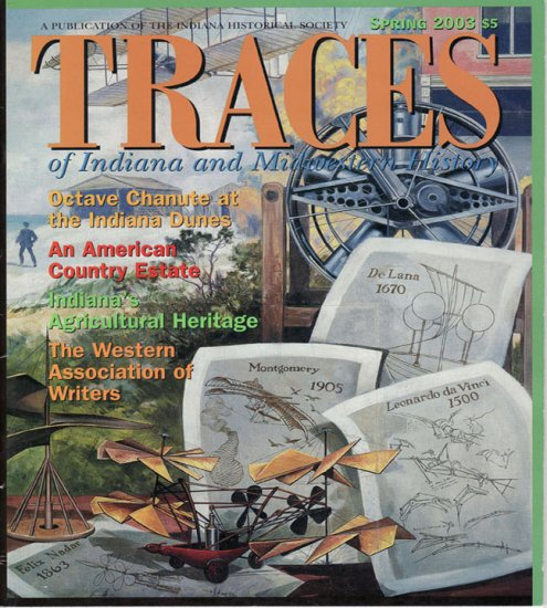 TRACES of Indiana and Midwestern History Spring 2003 IHS Local History Magazine Back Issue