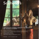 Sotheby's Italian Decorative Arts Milan Ceramics Auction and Exhibition Catalog July 2007