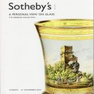 Sotheby's  A Personal View on Glass The Zoedler Collection  London  2007 Auction Catalog