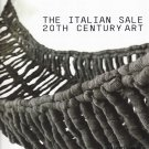 Christie's Italian Sale 20th Century Art London Auction Catalog 2008 Post War and Contemporary Art