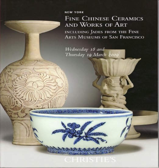 Christie's Fine Chinese Ceramics WOA Jade Collection 2009 Auction Catalog Decorative Arts