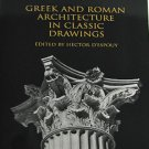 Greek and Roman Architecture in Classic Drawings by Hector Despouy 1999 Ancient Buildings Softcover
