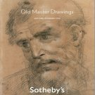 Sotheby's Old Master Drawings New York Auction Catalog Getty Sacker Collections 2010