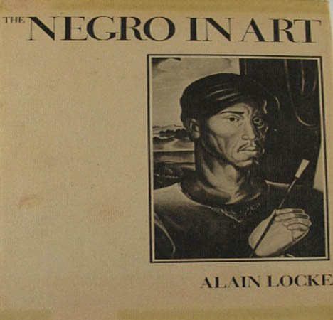 The Negro In Art By Alain Locke 1971 Pictorial Record of the Negro Artist  Hardcover Art Book