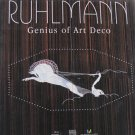 Ruhlmann Genius of Art Deco Art Exhibition Catalog Essays Hardcover Book 2004