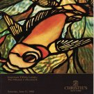 Christie's Important Tiffany Lamps The Mihalak Collection II Auction Catalog 1988