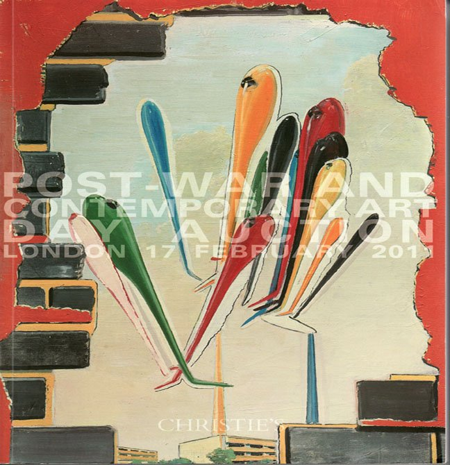 Christies Post-War and Contemporary Art  Day Auction Catalog Kiefer Warhol London February 2011