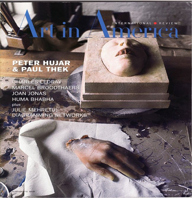 ART IN AMERICA November 2010 Paintings Drawings Contemporary Art Work Magazine Back Issue
