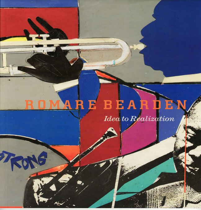 Romare Bearden Idea to Realization  Collages Art Exhibition Catalog  Softcover 2011