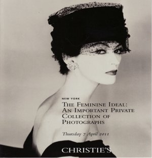 Christie's The Feminine Ideal An Importantion Private Collection of Photographs Auction Catalog 2011