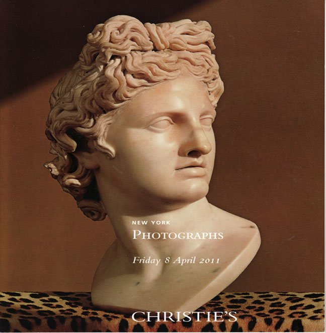 Christie's Photographs Auction Catalog Private Collections New York April 2011