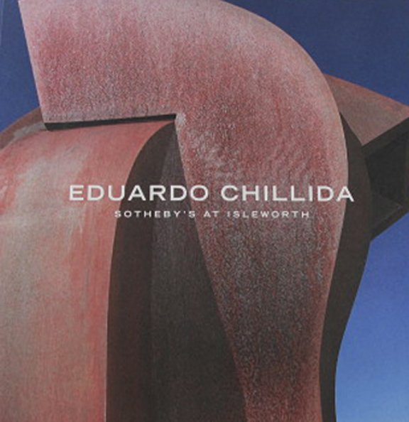 Eduardo Chillida Sotheby's At Isleworth Catalog Master Sculptor Softcover Private Sale  2011