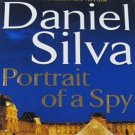ThePortrait of a Spy by Daniel Silva First Edition Art Restorer Fiction Hardcover Book 2011