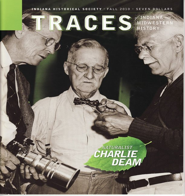 TRACES of Indiana and Midwestern History Fall 2010 IHS Local History Magazine Back Issue