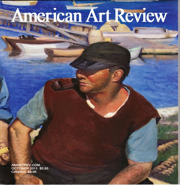 AMERICAN ART REVIEW October 2011 Paintings Photography Contemporary Art Work Magazine Back Issue