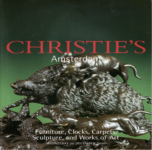 Christie's Amsterdam Furniture Clocks Carpets Sculpture and Works of Art  Auction Catalog  2000
