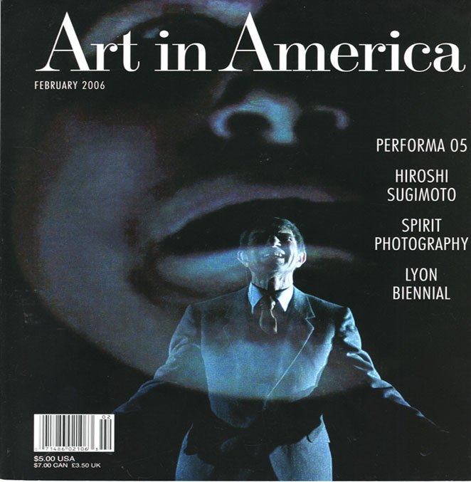 ART IN AMERICA Hiroshi Sugimoto Spirit Photography Art Magazine Back Issue February 2006