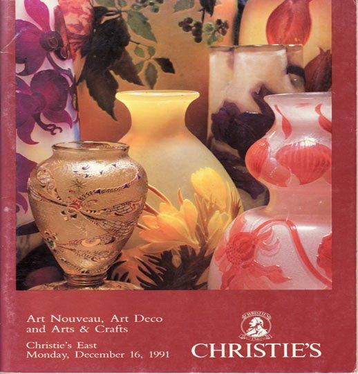 Christie's Art Nouveau Art Deco and Arts & Crafts Auction Catalog December 1991