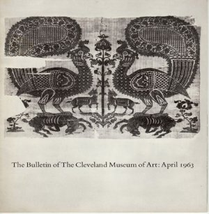 The Bulletin of The Cleveland Museum of Art Dutch Crucifixion Miniature Textiles1963 Softcover