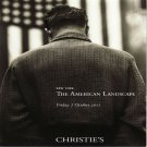 Christies The American Landscape Auction Catalog Photographs Manuel Alvarez Bravo 2011 New York