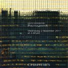 Christies Photographs South Kensington Catalog Private Collection Photos 2011 London