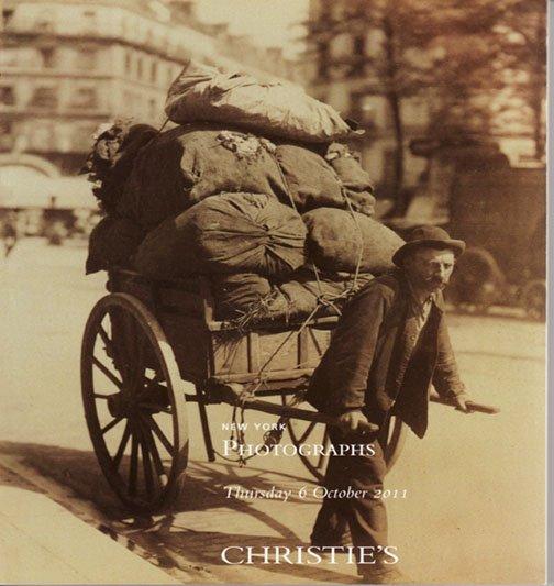 Christies Photographs Penn Horst Atget  Mann Catalog Private Collection Photos New York  2011
