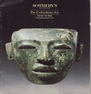 Sotheby's Pre-Columbian Art Auction Catalog Property from Private European Collector New York 1990