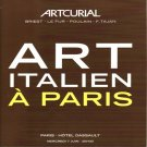 Artcurial Italian Art At Paris Boccini Morandi de Chirico Art Auction Catalog Softcover 2006