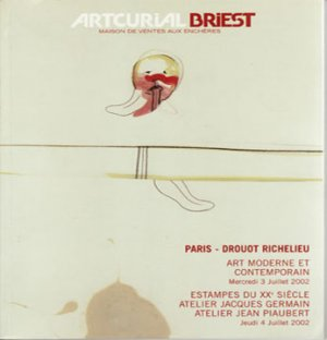 Artcurial Modern and Contemporary Art 20th Century Prints Auction Catalog Softcover 2006