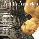 ART IN AMERICA Focus China Lee Bontecou August Sander Magazine Back Issue June 2004