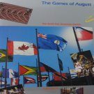 The Games of August The Tenth Pan American Games Indianapolis Local History  Hardcover 1987