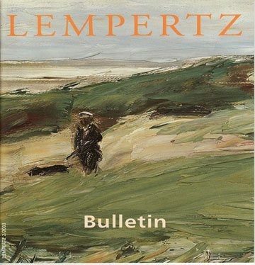 Lempertz Bulletin Art Auction Catalog Asian Art Photography Previews and Reviews Softcover 2003